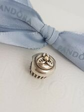 Authentic Genuine Pandora Sterling Silver 14k Gold Cupcake - 790417