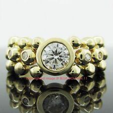 Simulated Stone Yellow Gold Fine Jewellery Sets