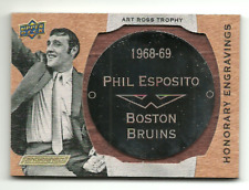 2019-20 Engrained Honorary Engravings Phil Esposito Art Ross Trophy #49/100!!