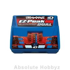 Traxxas EZ-Peak Dual Multi-Chemistry Battery Charger w/Auto Battery iD 3S/8A/10W
