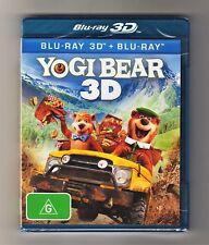 Yogi Bear 3D Blu-ray + Blu-ray - Brand New & Sealed
