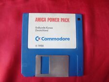 ERDKUNDE - KURSUS DEUTSCHLAND AMIGA POWER PACK COMMODORE 1988 DISKETTE