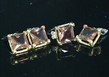 925 Sterling Silver Gold Plated Alexandrite Change Colour Ladies Set
