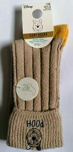 Disney Winnie the Pooh Cosy Slipper Gripper Socks Women's Ladies  4-8UK
