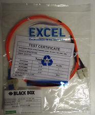 DESTOCKAGE!! Lot de 5 fibres optiques 2m SC-OS1/SC-OM2 62,5/125