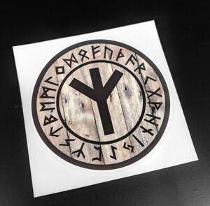 Precut Viking Algiz Rune Sticker / Decal, Odin, Odinist, Norse, Pagan