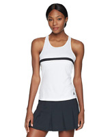 Adidas Women's White Tennis Club Tank Activewear 10201 Size L
