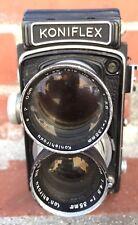 WOW Rare Koniflex Konishiroku Antique Vintage Film Camera from Japan Seikosha NR