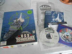 USS TICONDEROGA : DEFENDER OF LIBERTY  1995 NAVAL COMBAT PC GAME BIG BOX VERSION