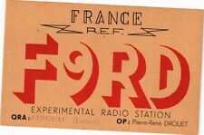 CPA Station Radio Experimentale (271423)