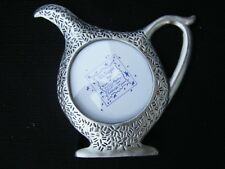 "Pewter Ruth Reynolds Darby Ashleigh Manor Teapot Frame Fits 2"" x 2"" Photo"
