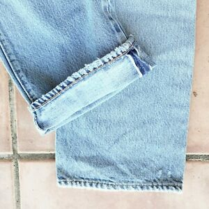 Vintage LEVI'S 501 Redline Selvedge Jeans 28 x 33  Actual Made in USA