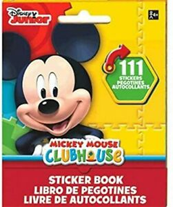 Mickey Mouse Clubhouse Disney Kids Birthday Party Favor 111 Sticker Book