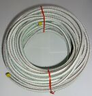 """5/16"""" x 50' White w/ Black & Green Tracer MFP Cover Bungee Shock Cord Super Tuff"""