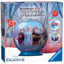 Ravensburger Disney Frozen 2 3D Jigsaw Puzzle Ball - 72 Piece - 11142