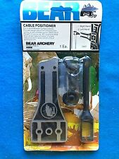 VINTAGE BEAR ARCHERY CABLE POSITIONER #7307 LEFT-HAND 2 & 4 WHEELER COMPOUND BOW