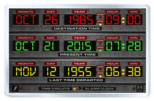 BACK TO THE FUTURE DASHBOARD DELOREAN FRIDGE MAGNET IMAN NEVERA