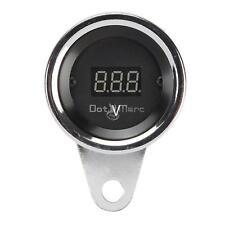 Universal Motorcycle Gauge LED Digital Display Voltmeter Voltage Waterproof Volt