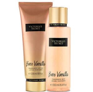 Victoria's Secret Bare Vanilla Fragrance Lotion + Fragrance Mist Duo Set