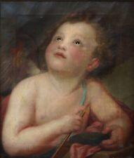 Amor mit Pfeil - 18/19. Jahrhundert, ~ 1800 - Öl / Leinwand   (# 12683)