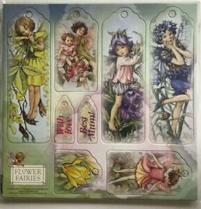 Flower Fairies Cicely Mary Barker Gift Tags. 2010 New Embellishment Scrapbooking