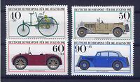 ALEMANIA/GERMANY 1982 MNH SC.B594/B597 Antique Cars