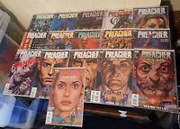 Preacher Vertigo DC Comics Bundle Great Condition 9,11 50-63