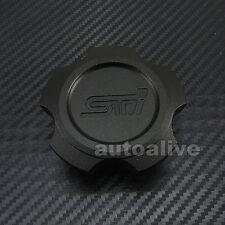 Black Aluminum Oil Filler Cap for Subaru WRX STI Impreza Legacy Forester Exiga