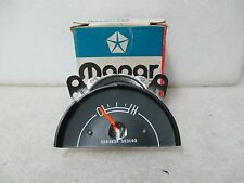 "Mopar ""NOS"" 1976-77 B Body Temperature Gauge W/Electric Clock & W/Tach 3593638"