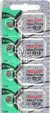 Maxell 364 SR621SW SR621 28034 LR621 AG1 Battery 0% MERCURY ( 4 PC )