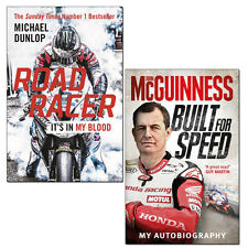Road Racer It's in My Blood and Built for Speed 2 Books Collection Set Pack NEW