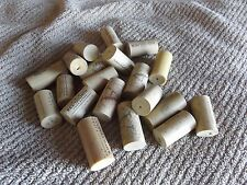 Lot of 25 Synthetic Used Wine Corks Crafts Projects Free Shipping