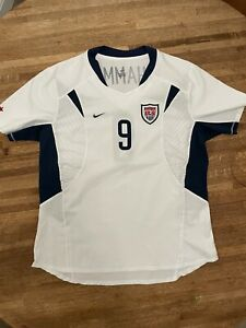 Authentic Nike Women's USA Mia Hamm World Cup 2003 Home Soccer Jersey Size Large