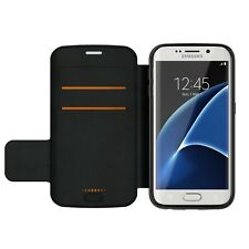 Gear 4 Oxford Custodia per Samsung Galaxy S7 bordo con D30 protezione dagli impatti-Nero