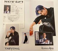 NCT127 - 2021 SEASONS GREETINGS SPLIT ITEM [TAEYONG] SET