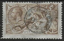 1918 B.W.Ptg. SG415a. 2s6d.Pale Brown. VFU With Small Thimble CDS.  Ref:17119