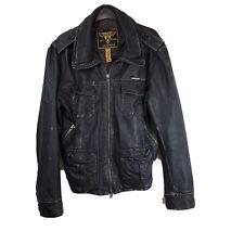 Superdry Orginals  Size Large  Men's Leather Jacket