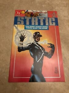 Static #1 DC / Milestone Comics 1993  (Direct Variant Copy) Static Shock 1st app