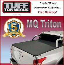 Mitsubishi Triton Dual Cab MQ with Sports Bars Clip On Ute Tonneau Cover