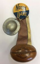 VINTAGE VERY RARE PRE-WAR NOTRE DAME FOOTBALL PINBACK
