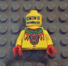 LEGO Adventurers Achu Minifig Jungle Torso and Head rare