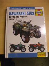 Kawasaki Bayou Prairie KLF 220 250 300 ATV Quad MANUAL86-11 Owners Book Service