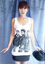 30 Seconds to Mars Jared Leto EMO WOMEN TOP T-SHIRT S M