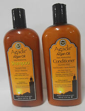 AGADIR Argan Oil Shampoo & Conditioner 355ml Duo (Sulphate & Paraben Free)