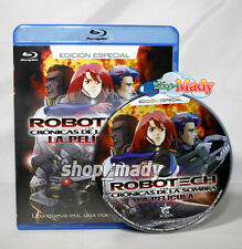 Robotech The Shadow Chronicles - Las Crónicas de la Sombra Blu-Ray Esp Latino