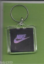 New Chrome Nike Plastic Key Chain