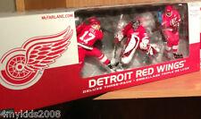 McFarlane DETROIT RED WINGS 3-Pack Chase Variant Yzerman Hull Joseph NHL Set