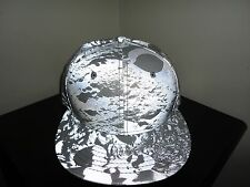 RARE! New Era GALAXY LUNAR ECLIPSE Reflective FOAMPOSITE Fitted Hat Cap!  SIZE 7