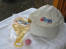 Original eToys gear- from the real eToys – Internet History