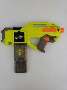 Nerf N-Strike Rayven CS-18 Firefly Lighted Magazine Semi-Auto Motorized Blaster